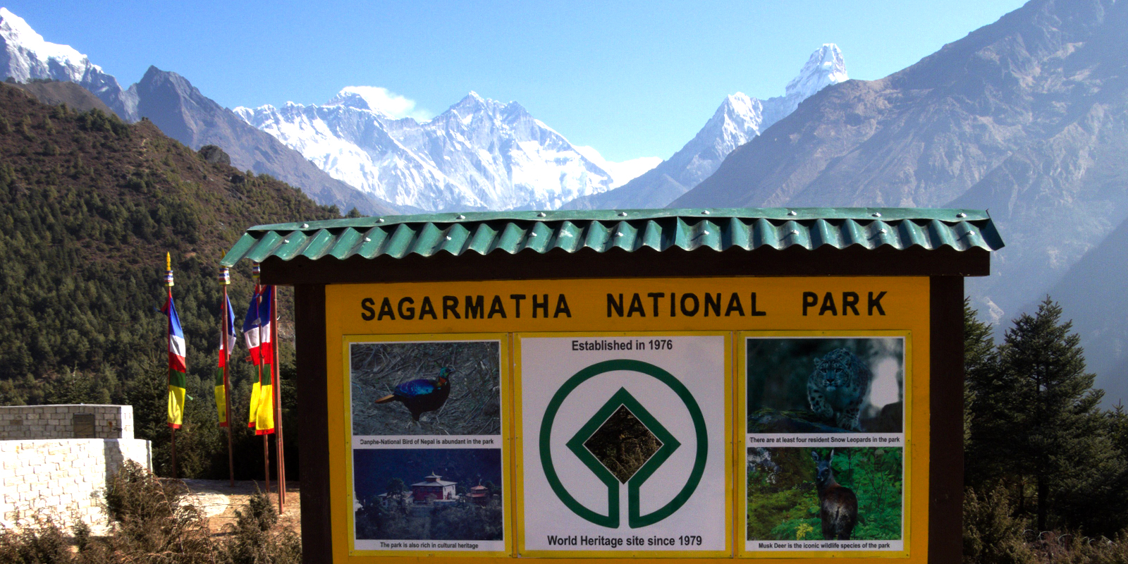 Welcome to Sagarmatha National Park